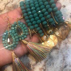 Bracelet & Earings Set